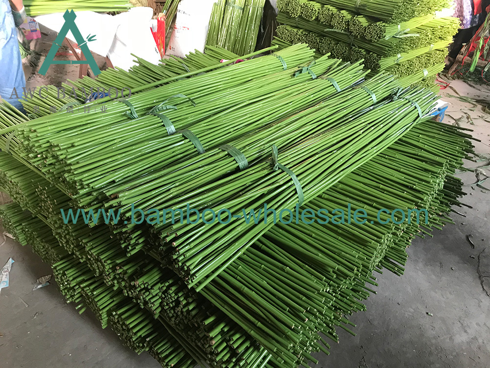 Пластыкавыя бамбукавыя слупы