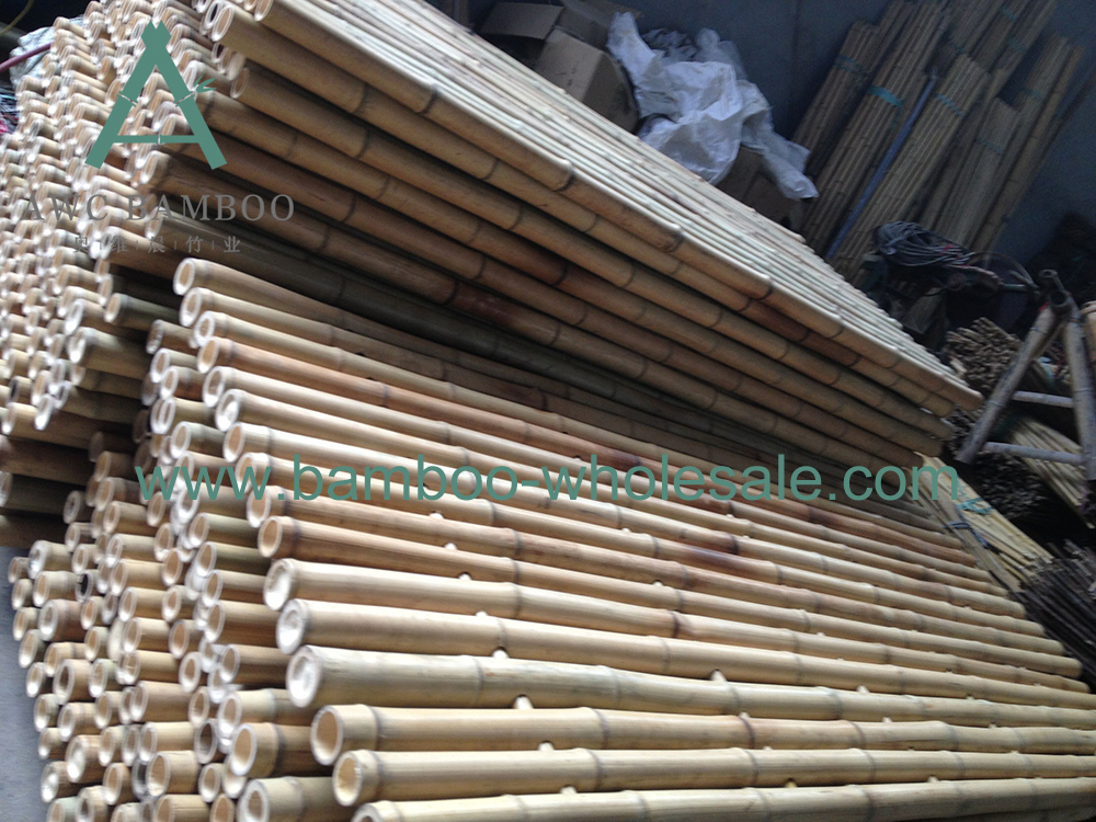 Natural Bamboo Fence